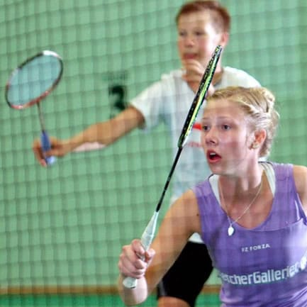 Badminton promotie