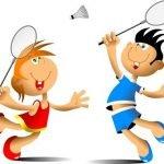 12108198-meisje-en-jongen-spelen-badminton